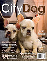 City Dog magazine cover